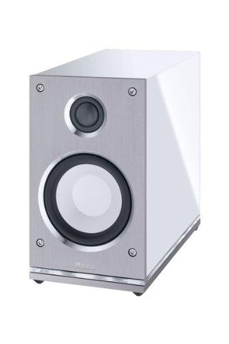 Magnat Quantum Edelstein High-End-Kompaktlautsprecher 2-Wege-Bassreflex 150 Watt Maximal Leistung, weiß