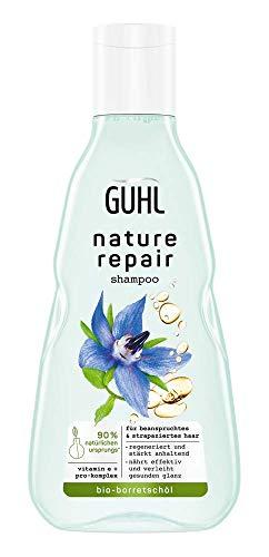 Guhl Nature Repair Shampoo - Inhalt: 250ml - Für beanspruchtes und strapaziertes Haar - Regeneriert und stärkt anhaltend