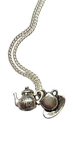 Alice im Wunderland Tee-Party-Halskette