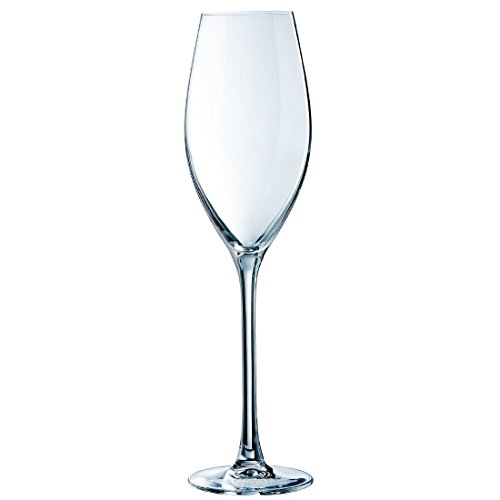 Chef & Sommelier E6250 Flûte à Champagne Grands Cépages, 24 cl, en cristallin, Transparent