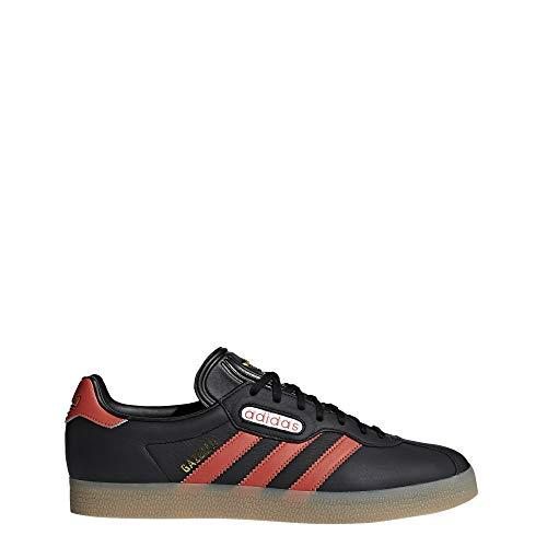Adidas Gazelle Super, Zapatillas de Deporte Hombre, Negro (Negbás/Esctra/Ftwbla 000), 47 1/3 EU