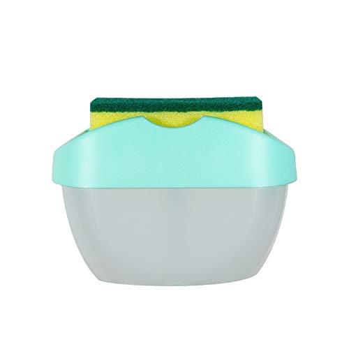 Dispensadores de loción y de jabón 2-en-1Multifunctional dispensador de jabón, esponja del tanque dispensador, estante de la cocina, Creativa Baño Jabonera Caja de almacenamiento Dispensador jabon bañ