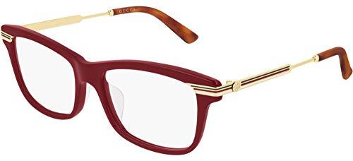 montatura occhiali da vista donna gucci Occhiali da vista Gucci GG0524O Red 54/17/140 donna