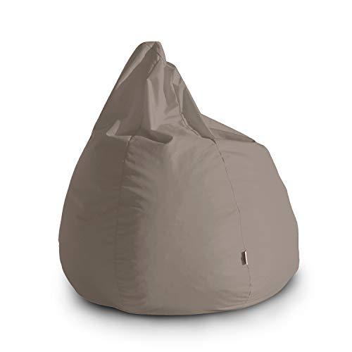 Avalon Pouf Poltrona Sacco Grande Bag L Jive 80x80x100cm Made in Italy in Tessuto antistrappo Imbottito...