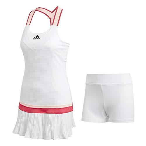 adidas Y-Dress H.RDY Vestido, Mujer, Blanco, XS