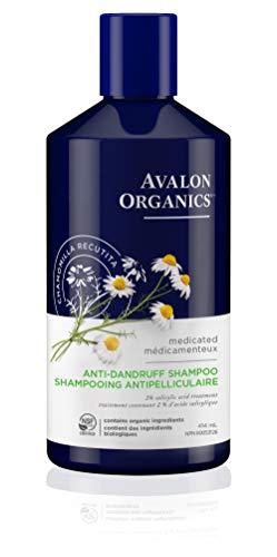 Avalon Organics Anti-Dandruff Itch & Flake Shampoo, 14 Fluid...