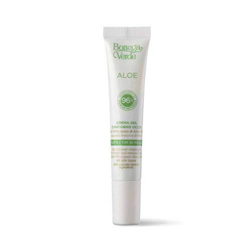 Bottega Verde, Aloe - Cremagel contorno occhi - sguardo fresco e disteso - con 50% succo di Aloe* bio (15 ml) - tutti i tipi di pelle