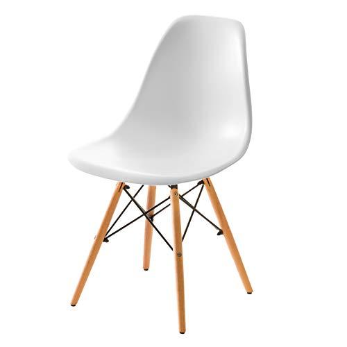 システムK イームズチェア DSW ダイニングチェア 椅子 ホワイト 通常版