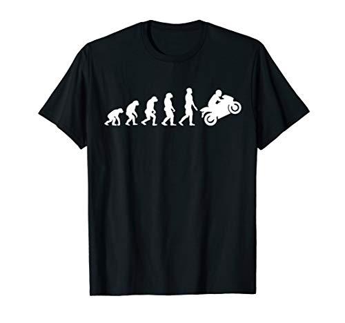 Evolution Motorrad Motorbike Race Bike T-shirt Herren