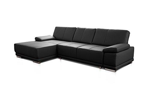 Ecksofa Couch günstig CAVADORE Corianne Bild 4*