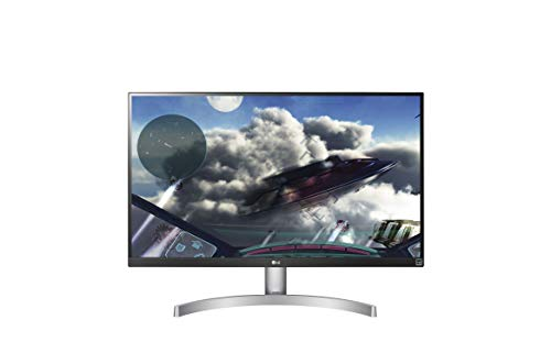"LG 27UL600-W LED Display 68,6 cm (27"") 4K Ultra HD Plana Negro, Blanco - Monitor (68,6 cm (27""), 3840 x 2160 Pixeles, 4K Ultra HD, LED, 5 ms, Negro, Blanco)"