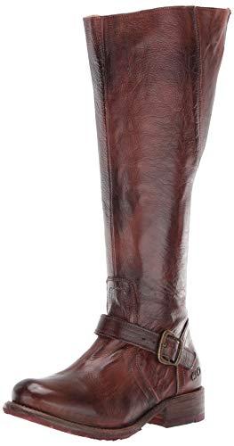 BED STU Women's Glaye Boot, Teak Rustic, 9.5 M US