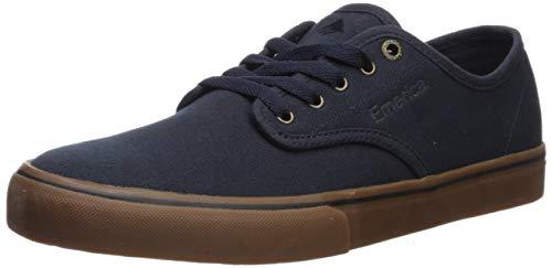 Zapatos Emerica Wino Standard Azuloscuro-Gum-Oro (EU 41 / US 8, Azuloscuro)