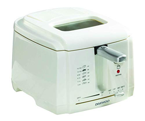 Daewoo SDA1378 1800W Deep Fat Fryer with Adjustable Temperature Control and...