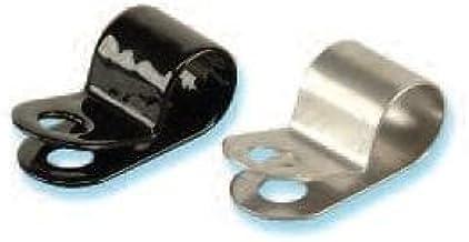 2PCS Aluminum Rubber Cushioned Clamp ID 6.4mm AN4 Vacuum Hose Red