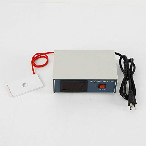 110V 32W Microscope Temperature Control Stage Slide Warmer