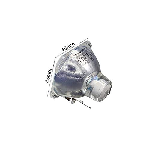 JRUIAN Lámpara de Haz 2R 132W / Bombilla de Haz de Cabeza móvil 2R 120W y reemplazo de Bombilla de proyección de lámpara de Platino MSD (Color : Default)