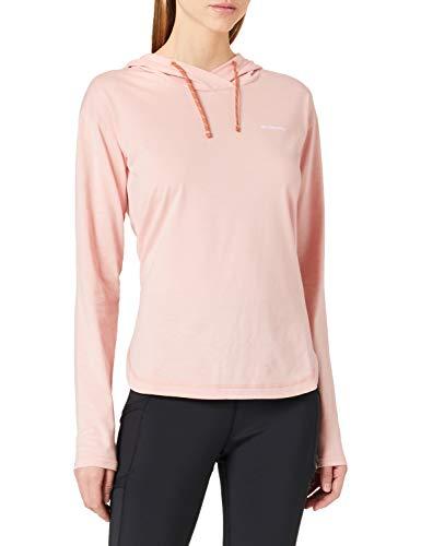 Columbia Sun Trek Sudadera con capucha, Mujer, Faux Pink, M
