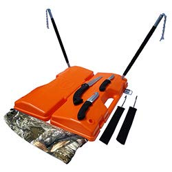 GUTDADDY Orange Field Dressing and Game Processing kit w/Knife Set