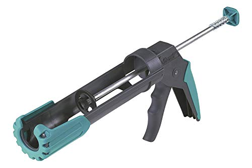 wolfcraft 1 MG 200 ERGO mechanische Kartuschenpresse 4352000 | Ergonomische Kartuschenpistole mit gummiertem Handgriff & drehbarer Griffhülse | Für 310 ml Kartuschen geeignet