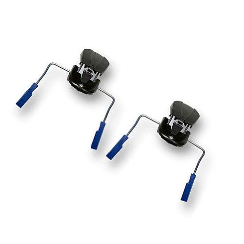 Salomon Z Series Lot de 2 freins à ski 130 mm (paire) (pieds bleus)