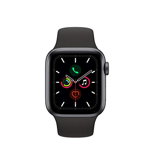 Apple Watch Series 5 (GPS+Cellular, 40mm) - Space Gray Aluminum Case with Black Sport Band 4