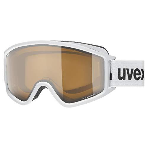 uvex Unisex– Erwachsene, g.gl 3000 P Skibrille, white mat, one size