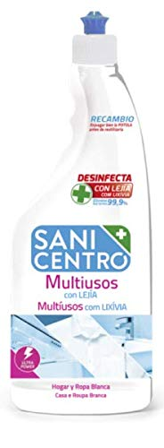 Sanicentro Multiusos con lejia Recambio 750ml