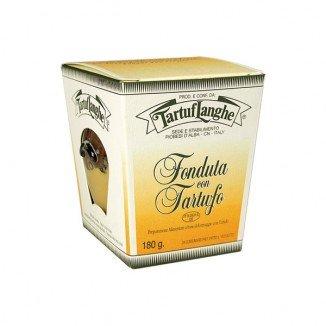 Tartuflanghe - FONDUTA di Fontina DOP CON TARTUFO pronta - 12 Vasetti da 180g