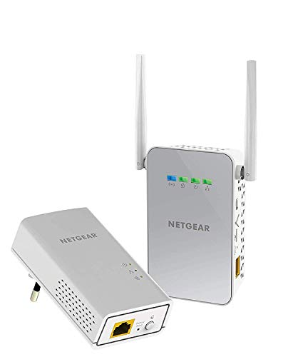 Netgear PLW1000-100PES - Kit de adaptadores Powerline Gigabit (1...