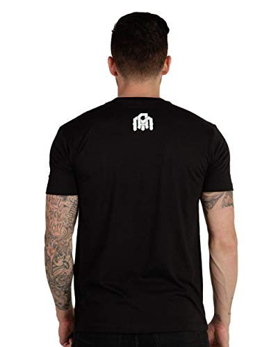INTO THE AM Men's Graphic Tees – Casual Short Sleeve Plain Crew Neck T-Shirt