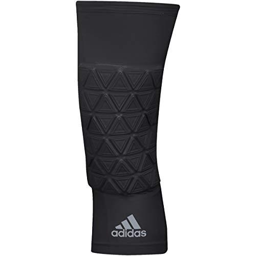 adidas Basketball Padded Knee Sleeve, Black, Medium