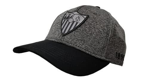 Sevilla CF Gorra Premium Gris Claro Sevilla FC, Unisex Adulto, Talla Unica