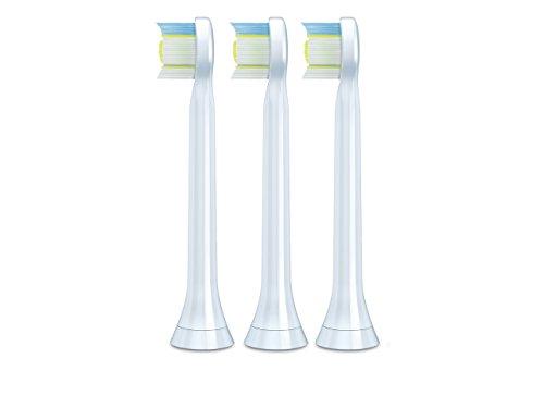 フィリップス ソニッケアー 電動歯ブラシ ダイヤモンドクリーン 交換用替ブラシヘッド コンパクトサイズ 3本組 HX607301 ホワイト