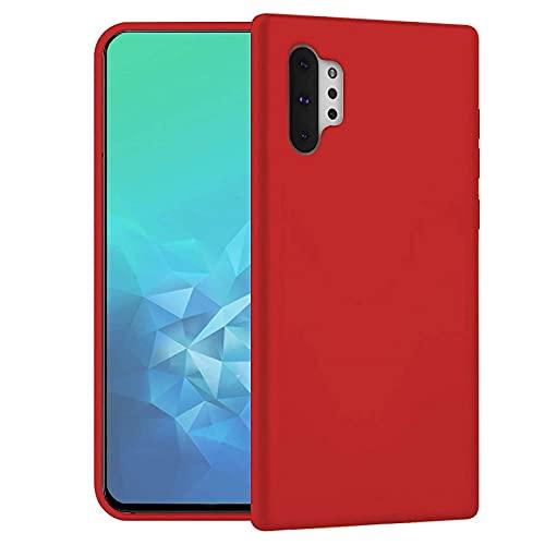 MB Accesorios Funda Silicona rígida roja para LG K41S/K51S Tacto Suave