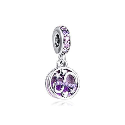 WUXEGHK Charms 925 Original Fit Pandora Pulseras Plata De Ley Eternity Mom Charm Beads para La Fabricación De Joyas Mujeres Berloque