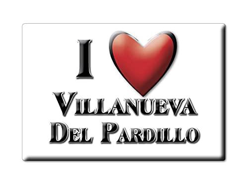 Enjoymagnets Villanueva del PARDILLO (M) Souvenir IMANES DE Nevera ESPAÑA Comunidad DE...