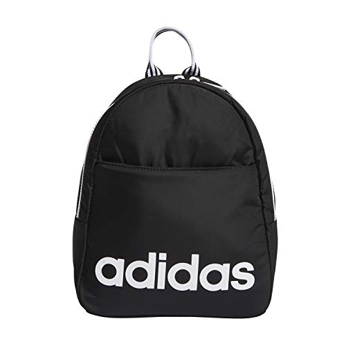 adidas Unisex Core Mini Backpack, Black/White, ONE SIZE