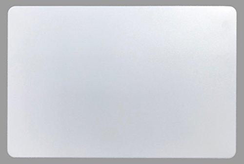 Schreibtischunterlage weiß 40 x 60 cm abwischbar groß