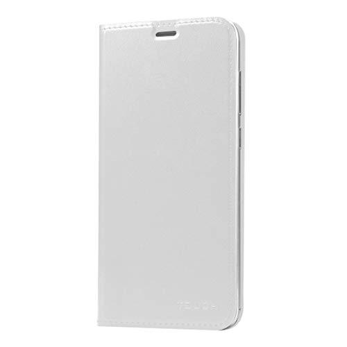 EASON Caja del teléfono -para UMI TÁCTIL (S-MPH-3364) y Toque X (MPH0021) Toss Horizontal Funda de Cuero (Negro) Teléfono (Color : White)