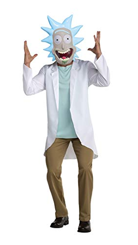 Palamon Adult Rick and Morty Rick Scientist Costume Size Small Blue
