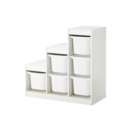 Ikea TROFAST - combinación de almacenaje con Cajas £ 63-100x44x94 cm