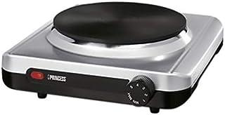 Princess Single Hot Plate, Silver - Prn.2201