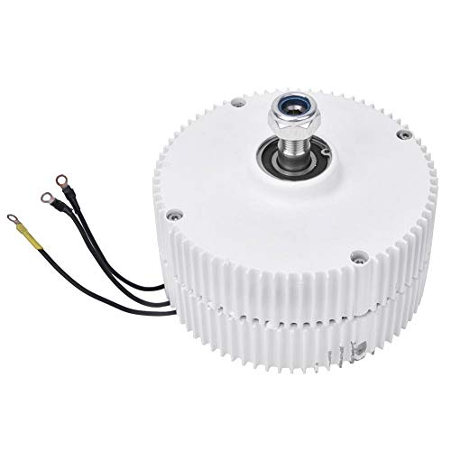 24V 400W Permanent Magnet Electric Motor, 3-Phase Synchronous Alternator NE-400 Permanent Magnet Electric Motor Generator DIY for Wind Turbine (Motor)