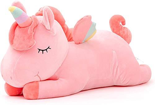Lazada Kids Pilush Peluche Unicorno Peluche Abbraccio Giocattolo Migliori Regali per Bambini Rosa 22 '