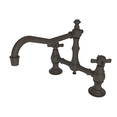 Hot Sale Newport Brass 945/10B 940 Series Two-Hole Kitchen Faucet, Oil Rubbed Bronze