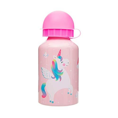 SASS and Belle - Botella de Agua para niños, diseño de Unicornio arcoíris
