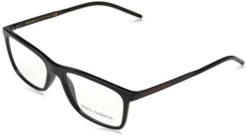 Dolce & Gabbana 0DG5044 Monturas de gafas, Black, 52 para Hombre