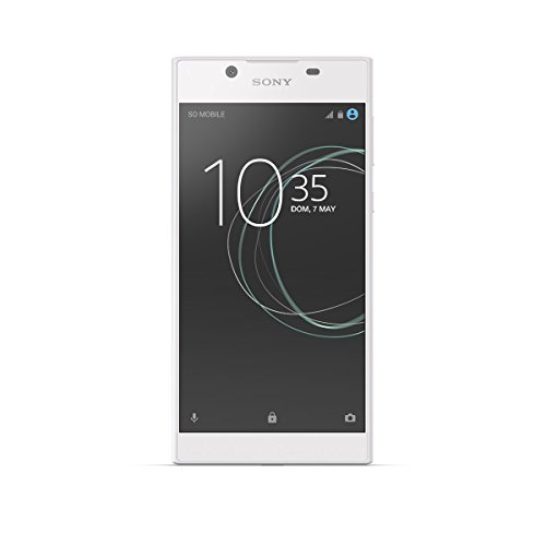 Sony Xperia L1 - Smartphone de 5.5' (Quad Core 1.45 GHz, RAM de 2 GB, memoria interna de 16 GB, cámara de 13 MP, Android) Blanco