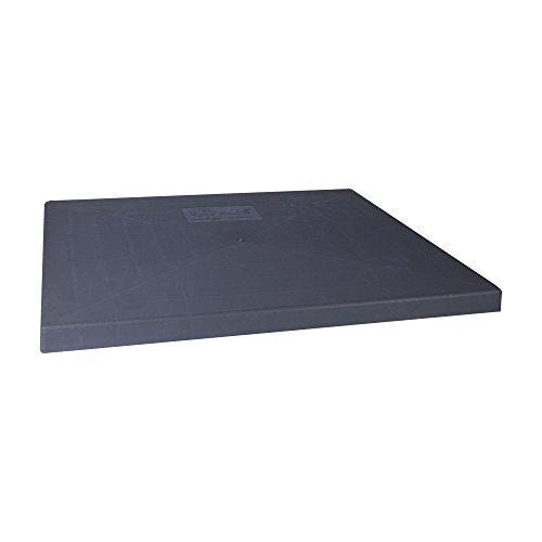 DiversiTech EL3636-3 E-Lite Condenser Pad, 36' x 36' x 3', 28# per Pad, Gray